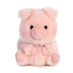 Prankster the Pig Stuffed Animal Rolly Pet by Aurora