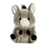 Bray the Donkey Stuffed Animal Rolly Pet by Aurora