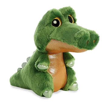 Snaps the Small Green Stuffed Crocodile Sparkle Tales by Aurora