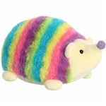 Rainbow Stripes Hedgehog Stuffed Animal by Aurora