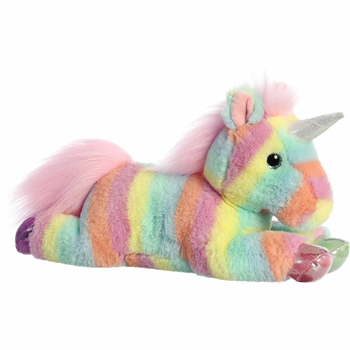 Rainbow Pastel Unicorn Stuffed Animal by Aurora