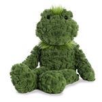 Froglette the Shaggy Stuffed Frog Fuffles Plush by Aurora