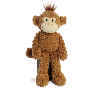 Chimpy the Shaggy Stuffed Chimp Fuffles Plush by Aurora