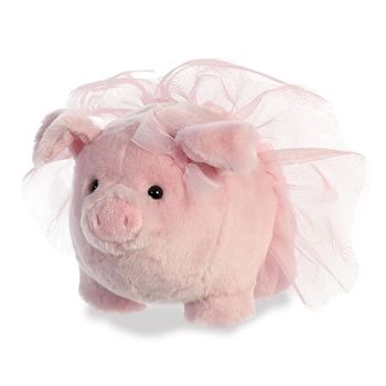 Blossom the Stuffed Pink Pig with Tutu by Aurora