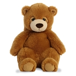 Slouching Plump Brown Bear Stuffed Animal Sluuumpy Plush by Aurora