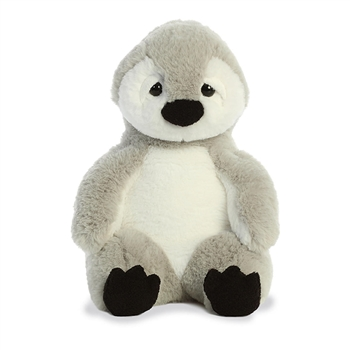 Slouching Plump Penguin Stuffed Animal Sluuumpy Plush by Aurora
