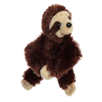 Stuffed Sloth Snap Bracelet Wristamals Plush by Aurora