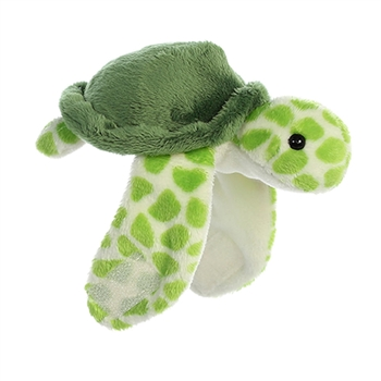 Stuffed Turtle Snap Bracelet Wristamals Plush by Aurora