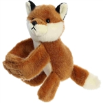 Stuffed Red Fox Snap Bracelet Wristamals Plush by Aurora
