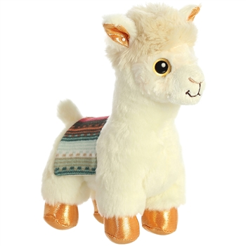 Buttercup the Stuffed Alpaca Sparkle Tales Plush by Aurora