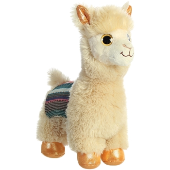 Mischief the Stuffed Alpaca Sparkle Tales Plush by Aurora