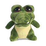 Dreamy Eyes Little Green Alligator Stuffed Animal with Sound by Aurora