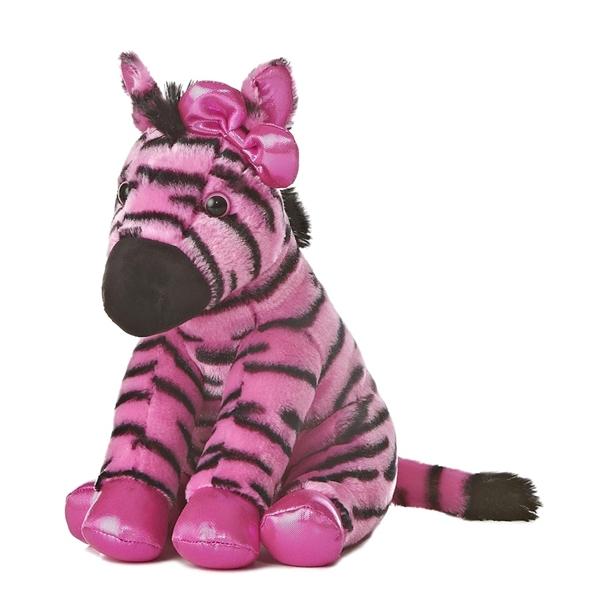 Girlz Nation Pink Stuffed Zebra By Aurora At Stuffed Safari