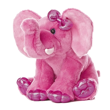 Girlz Nation Pink Stuffed Elephant by Aurora