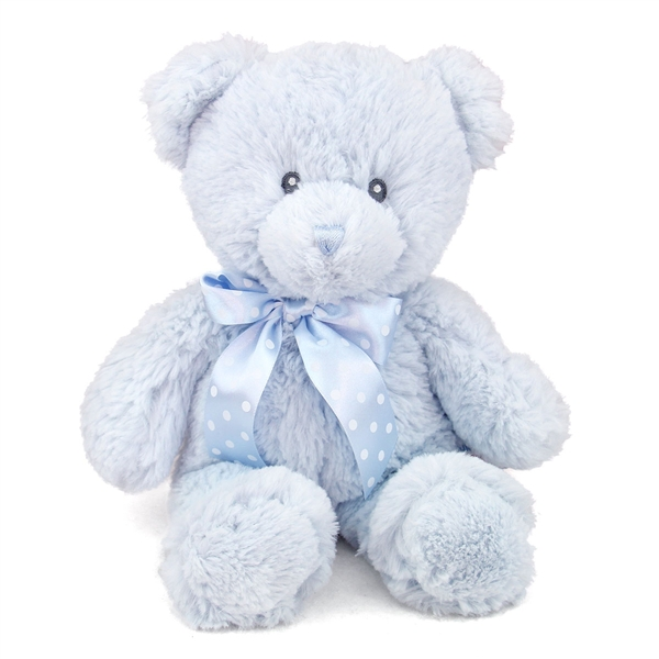 12 Inch Baby Safe Classic Plush Blue Teddy Bear By Aurora At Stuffed