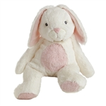 Bun Bun the Quizzies White and Pink Stuffed Bunny by Aurora