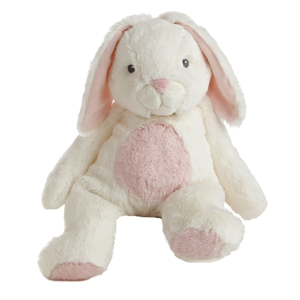 Bun Bun The Quizzies White And Pink Stuffed Bunny By Aurora At