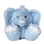 Taddi the Taddle Toes Blue Baby Safe Plush Elephant by Aurora