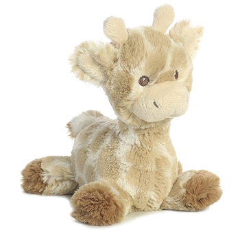 Loppy the Small Baby Safe Plush Giraffe Rattle by Aurora
