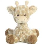Loppy the Baby Safe Plush Giraffe Rattle by Aurora