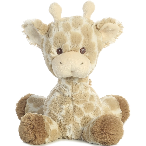 Baby Safe Plush Giraffe Rattle Aurora Stuffed Safari