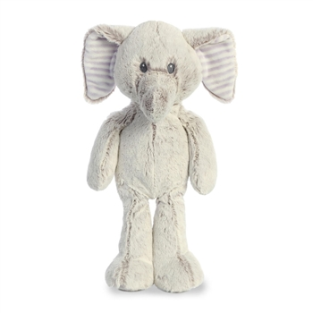 Cuddlers Elvin the Baby Safe Plush Elephant by Aurora