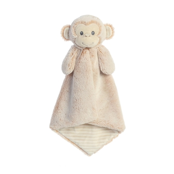 Cuddlers Marlow the Monkey Luvster Baby Blanket by Aurora