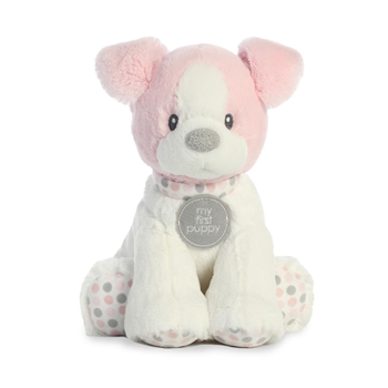 Small Baby Safe Plush Pink My First Puppy by Aurora