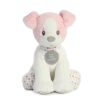 Baby Safe Plush Pink My First Puppy by Aurora