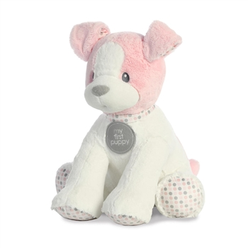 Big Baby Safe Plush Pink My First Puppy by Aurora