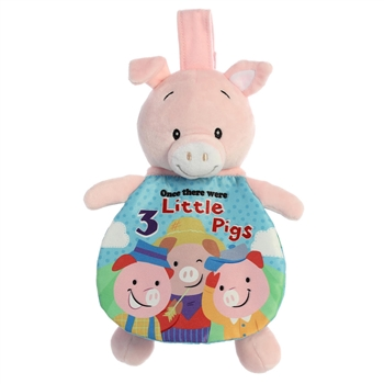 Three Little Pigs Story Pals Soft Book by Aurora