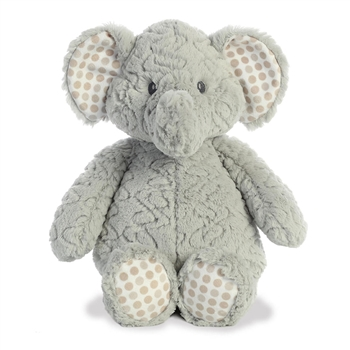 Elefunt the Big Baby Safe Plush Elephant by Aurora