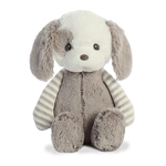 Grayson the Lil' Stripeez Small Baby Safe Plush Gray Puppy by Aurora