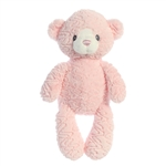 Huggy Bear the Baby Safe Plush Pink Bear by Aurora