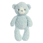 Huggy Bear the Small Baby Safe Plush Blue Bear by Aurora
