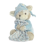 Sleepytime the Musical Plush Blue Cow by Aurora