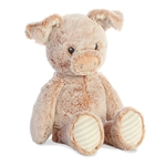 Cuddlers Peppy the Baby Safe Plush Pig by Aurora