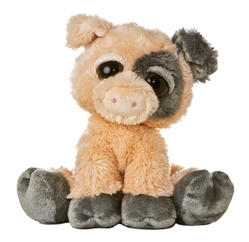 Pickles The Plush Pig Dreamy Eyes Stuffed Animal By Aurora