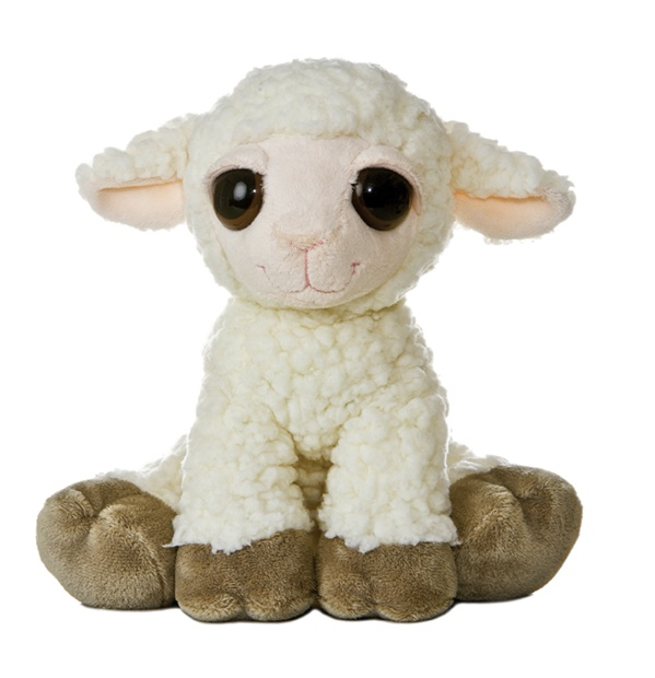 Lea The Plush Lamb Dreamy Eyes Stuffed Animal By Aurora At Stuffed