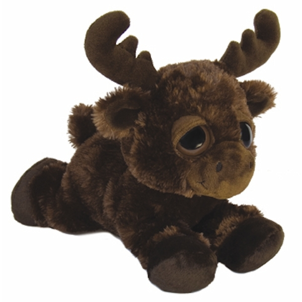 Michigan The Plush Moose Dreamy Eyes Stuffed Animal By Aurora At