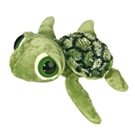 Slide the Plush Sea Turtle Dreamy Eyes Stuffed Reptile by Aurora