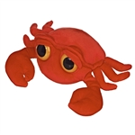Carefree the Plush Crab Dreamy Eyes Stuffed Crustacean by Aurora