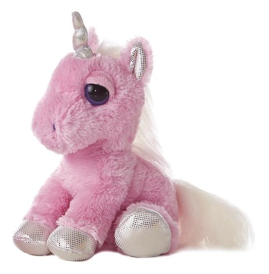 Dreamy Eyes Stuffed Pink Unicorn Aurora Stuffed Safari