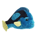 Tango Wango the Dreamy Eyes Blue Tang Stuffed Animal by Aurora