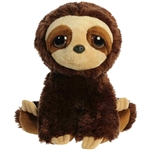 Marley the Dreamy Eyes Sloth Stuffed Animal by Aurora