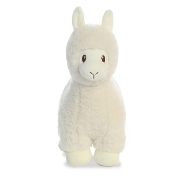 Lil' Llove the Baby Safe Plush White Llama by Aurora