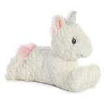 Isabella the Baby Safe Plush White Unicorn by Aurora