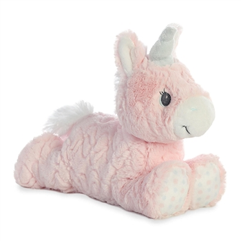 Aria the Baby Safe Plush Pink Unicorn by Aurora