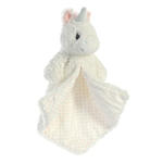 Isabella the White Unicorn Luvster Baby Blanket by Aurora