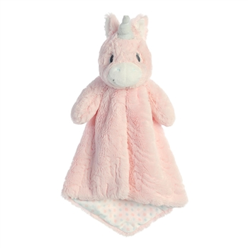 Aria the Pink Unicorn Luvster Baby Blanket by Aurora